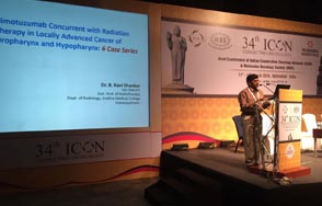 Doctor B Ravi Shankar Consultant Clinical Oncologist at 34th ICON