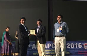 Doctor B Ravi Shankar Consultant Clinical Oncologist at 35th AOIAPCON 2016