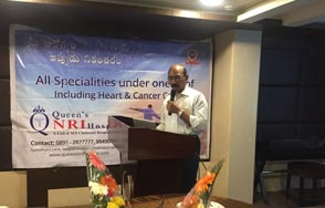 Doctor B Ravi Shankar Consultant Clinical Oncologist Anti Tobacco Drive